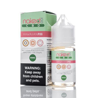 Naked 100 CBD Hawaiian POG CBD E-Liquid