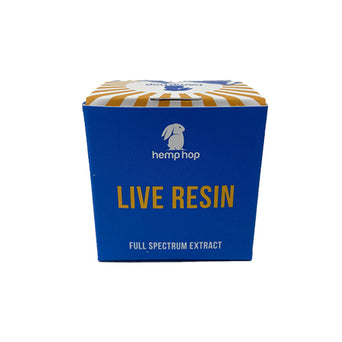 Hemp Hop Otto II Live Resin Packaging