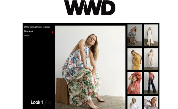 ARIAS Featured in WWD