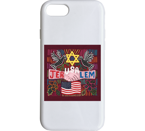 The JerUSAlem Mola Design iPhone Case