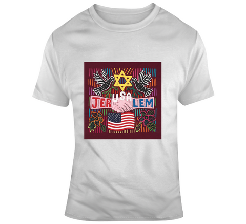 The JerUSAlem Mola Design T Shirt, Apron, Hoodie and iPhone Case