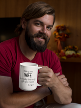 Load image into Gallery viewer, Extra large funny his and hers coffee mugs.
