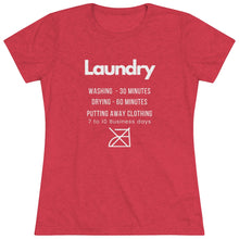 Load image into Gallery viewer, Laundry Rules Short Sleeve Tee