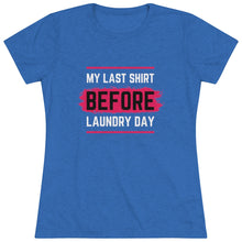 Load image into Gallery viewer, Laundry Day Short Shelve Tee