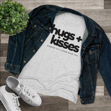 Load image into Gallery viewer, Hugs and Kisses Coming To A Zoom Near You Funny Tee