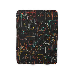 Covered In Love Sherpa Fleece Doggie Blanket