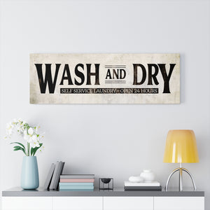 Large Farmhouse laundry signs