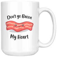 Load image into Gallery viewer, Don't go bacon my heart inexpensive gifts for couples.
