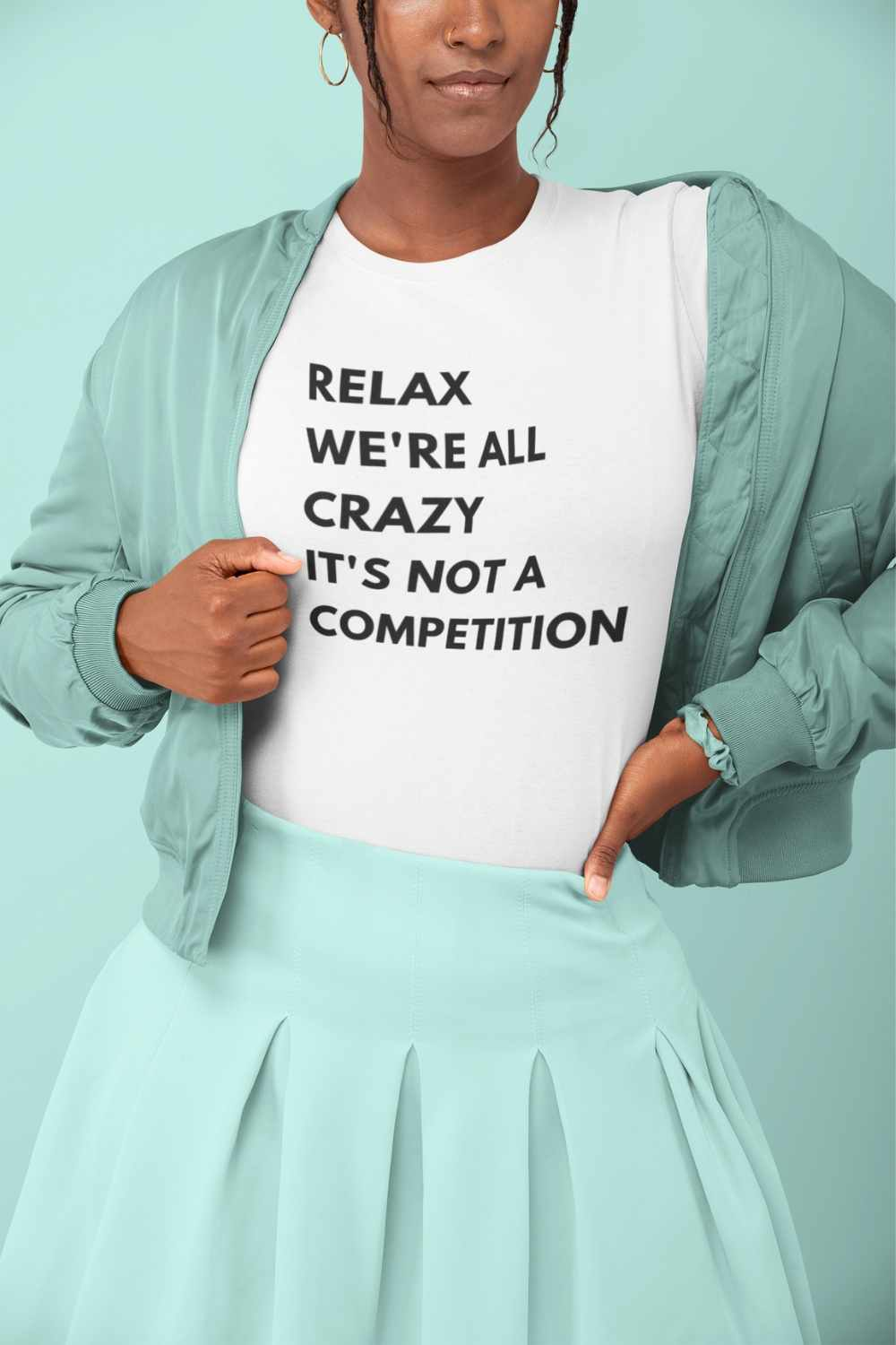 We Are All Crazy Short Sleeve Tee