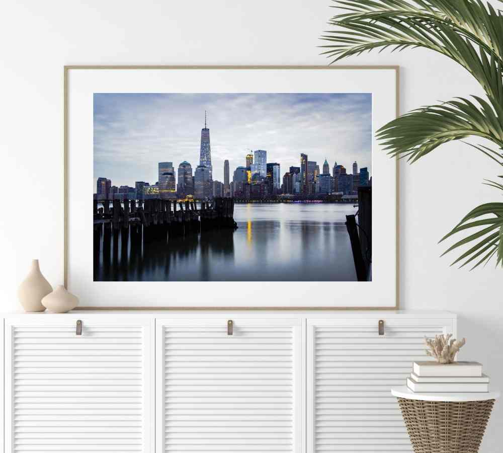 Best Photo of New York City Skyline Digital Art Print