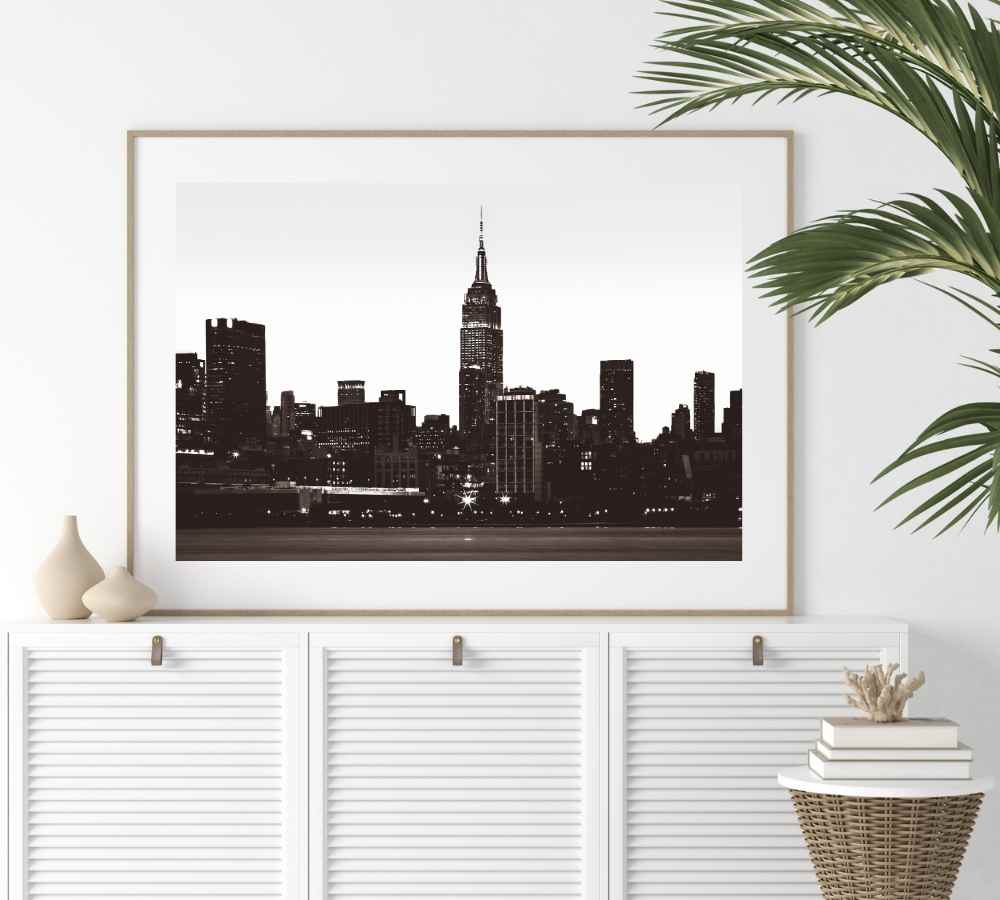 Empire State Building Digital Art