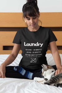 Laundry Rules Short Sleeve Tee