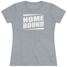 Load image into Gallery viewer, Heather gray t shirt for women.