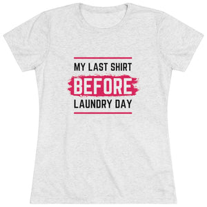 Laundry Day Short Shelve Tee