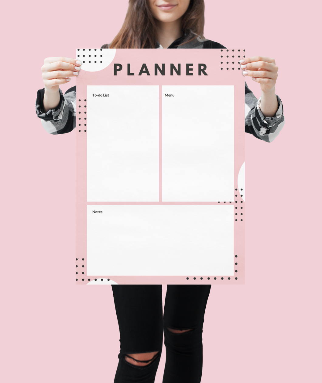 Girl boss wall planner