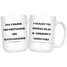 Load image into Gallery viewer, You're stuck with me mug gift set.
