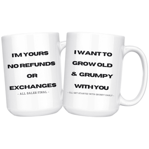 You're stuck with me mug gift set.