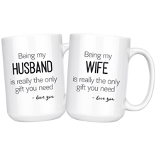 Load image into Gallery viewer, His and hers coffee mug gift sets