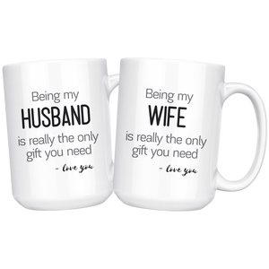 His and hers coffee mug gift sets
