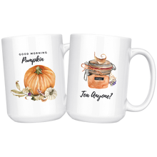 Load image into Gallery viewer, Pumpkin Chai Tea Large Mug Set