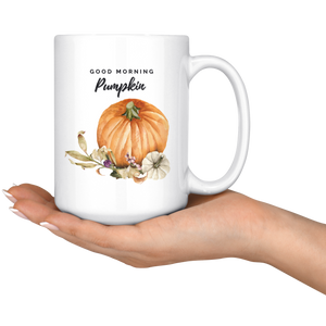 Pumpkin Chai Tea Large Mug Set