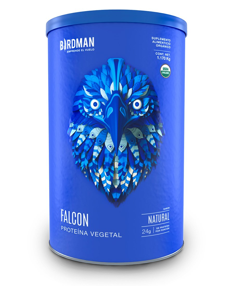 Proteina vegetal falcon birdman natural