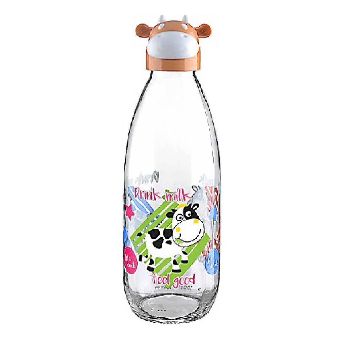 Botella vidrio vaca 1000 ml
