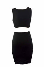 Load image into Gallery viewer, TIE FRONT BODYCON SOLID MINI DRESS