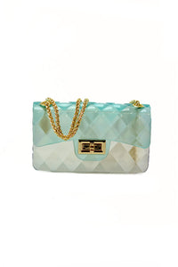 CLEAR JELLY TENDER CROSS BODY BAG(MINI)