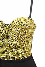 Load image into Gallery viewer, Bead and Rhinestone BodySuits