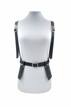 Load image into Gallery viewer, FAUX LEATHER STRAP BELT