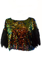 Load image into Gallery viewer, MULTI SEQUINS CUTE TOP