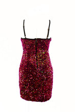 Load image into Gallery viewer, SEQUIN SEXY DRESS