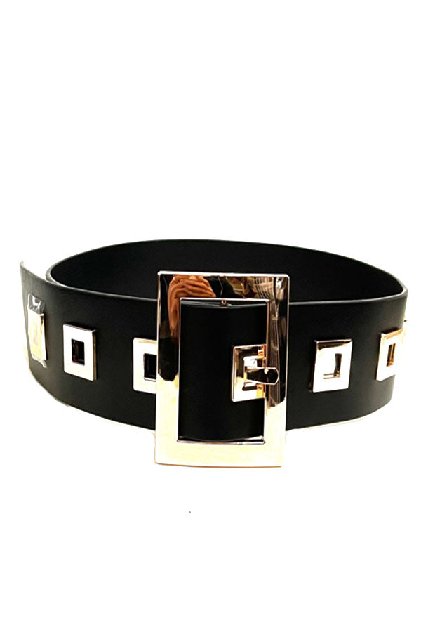 FASHION OVER SIZE BUCKLE BELT