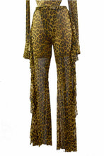 Load image into Gallery viewer, LEOPARD BODY SUIT AND PANTS SET