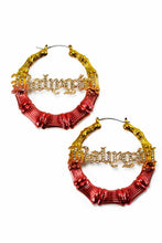 Load image into Gallery viewer, MULTI COLOR BABY GIRL BAMBOO EARRING
