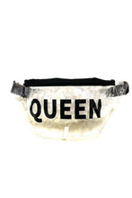 Load image into Gallery viewer, QUEEN CLEAR FANNY PACK
