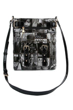 Load image into Gallery viewer, MAGAZINE PRINT CROSS BODY BAGS