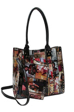 Load image into Gallery viewer, MAGAZINE PRINT HANDBAG