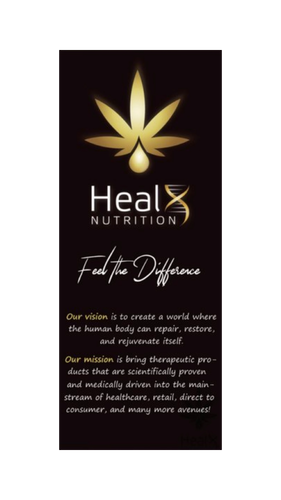 HealX Products Brochures - Quantity 25