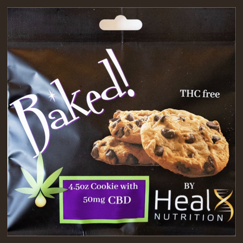 Baked Chocolate Chip Cookie - Free CBD Cookie with $100.00 purchase!