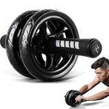 Double Wheel Abdominal Power Roller