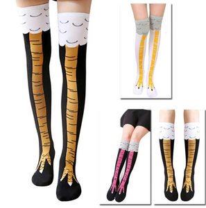 3D Chicken Leg Socks