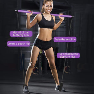 Yoga Pull Rods Exercise Stick Toning Bar