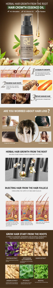 Hair Growth Essence Oil Hair Loss Treatment