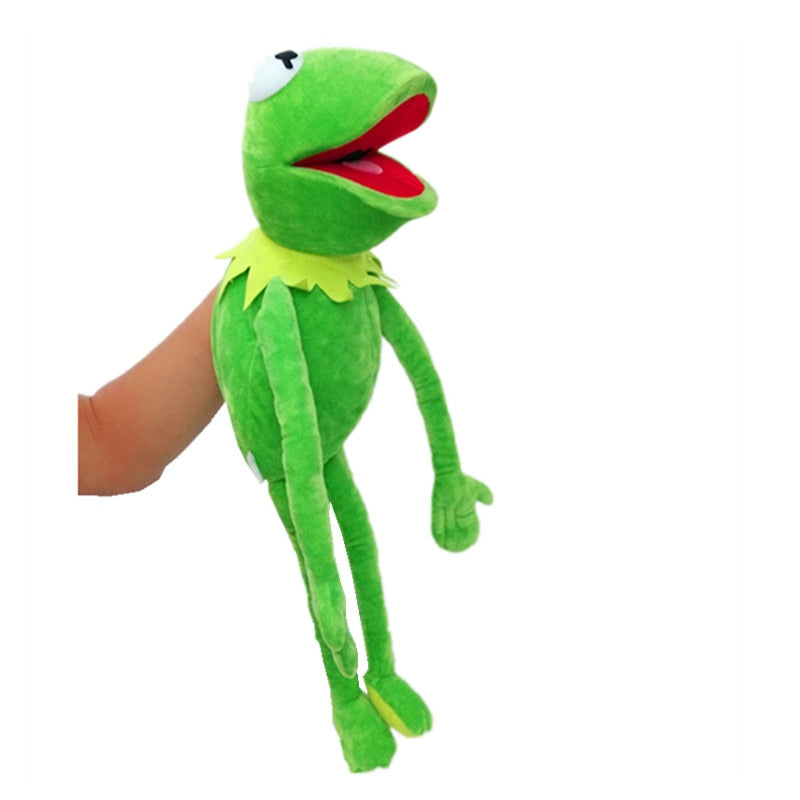 2019 New Kermit the Frog Hand Puppet Plush Toy Jim Henson Muppets Kids Toys
