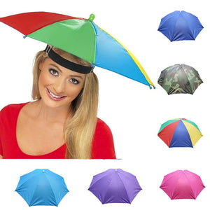 Umbrella Hat - Foldable 6 Colors Camouflage Cap