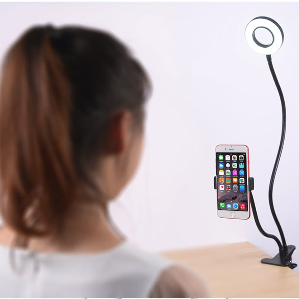 LED Ring Light Mobile Holder - Universal