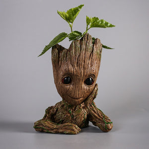 Baby Groot Pen/ Flower Holder Pot - Avengers