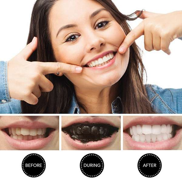 Miracle Teeth Whitening Powder Charcoal